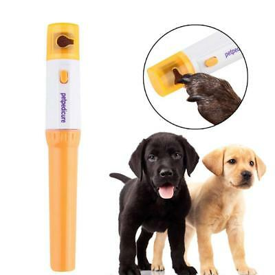 Pet's Electric Painless Nail Clipper Trimmer