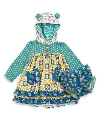 568b76858 NWT Size 3 6 Months Matilda Jane BABY BEAR DRESS & DIAPER COVER Once Upon A