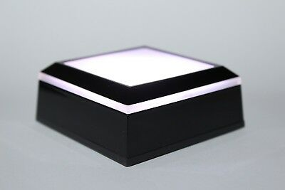 LED Light Base Stand White,  Blue, Red, Green Lights Programmable Multi-Function