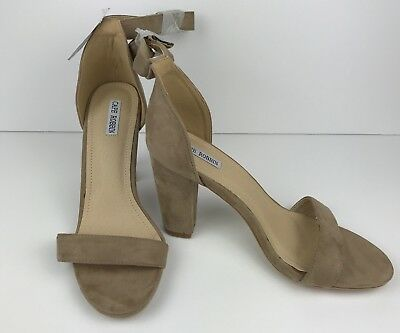 NWT Wet Seal Cape Robbin Nude Suede Sandals - size 9