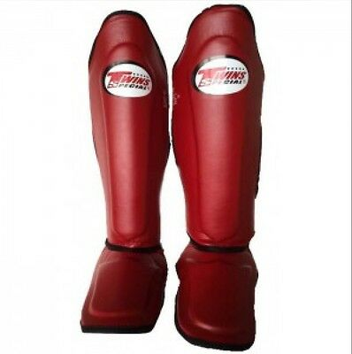 Twins Special Sgl-10 Maroon Shin Guards Size S