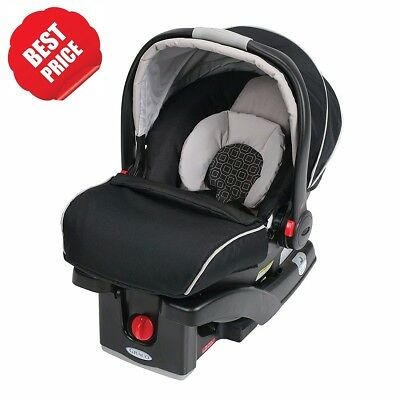Graco SnugRide Click Connect 35 Infant Baby Safety Car Seat Pierce