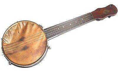 Vintage Dulcet London Banjo Ukulele - Made In England - Needs Restoration