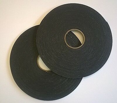Neoprene Sponge/foam Self Adhesive Roll 2, 3, 4, 5, 6, 8 & 10 Mm Thick X 5Metres
