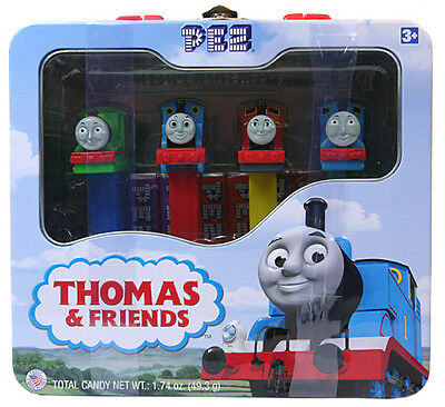 Pez Limited Edition ~Thomas the Train and Friends Lunch Box Tin~~Mint Sealed