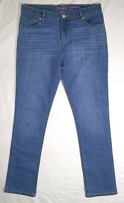 NWT Girls 16 TCP Skinny Jeans Light Wash Adj Waist The Children's Place NEW
