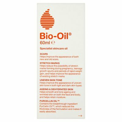3 XOriginal Bio-Oil Specialist for Scars and Stretch Marks 60ml With UK Address