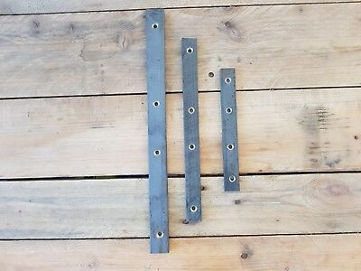 Metal Heavy Duty 1 x 100 x 25 x5mm Flat bar Brace Brackets Repair