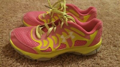 636041f6 GIRL'S / YOUTH under Armour Running/ athletic shoes size 4y ...