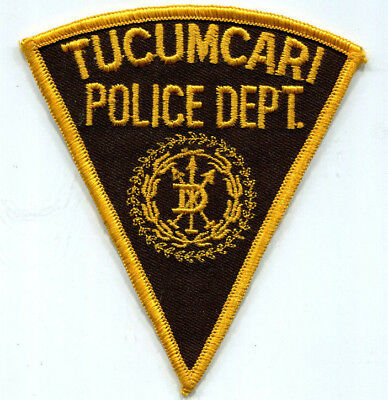 Tucumcari New Mexico Police Patch - OLD STYLE // FREE US SHIPPING!