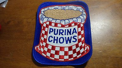 Vintage Purina Chows Purina Dog Food Dog Kennel Patch 1960's Bx Xl