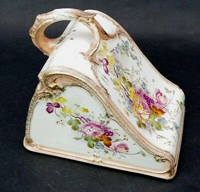 Antique Royal Bonn Porcelain Covered Cheese Plate Gesetzlich Lid Cover Only