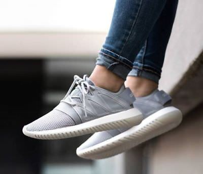buy online f22e7 2abfc ADIDAS ORIGINALS TUBULAR Viral Womens Shoes Sneakers S75908 Grey Size US  6.5 NEW