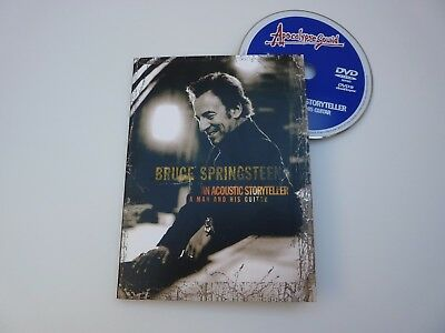 Bruce Springsteen an acoustic storyteller  A man and his guitar like new DVD