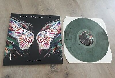 Bullet for my Valentine Gravity Col. Vinyl LP Ltd. EMP Edition 1 Sold out Wacken