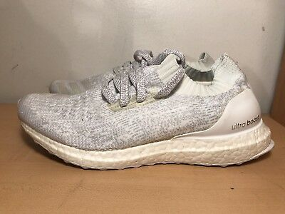 new style 8854b a020d ADIDAS ULTRA BOOST Uncaged 'Triple White' - BB0773