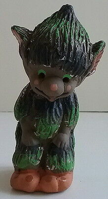 Jetmund Norwegian Pottery Figurine Standing Small Forest TROLL Gnome 1960's