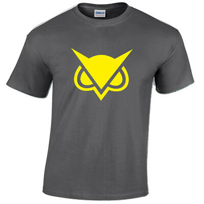 Vanoss VG Gaming Mens T-Shirt YouTube YouTuber Clan Inspired Gift Owl