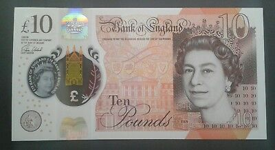 10 British pounds (polymer banknote)