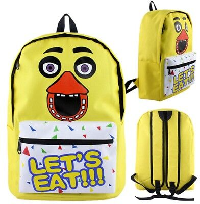 Anime Five Nights at Freddys Chica Backpack Bag USA SELLER!!! FAST SHIPPING!