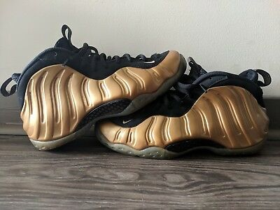 the best attitude 012e4 d67f6 Nike Air Foamposite One Metallic Gold and Black