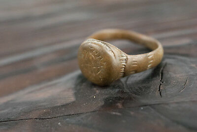 Medieval Bronze Ring c.16th Century AD Wearable Historical Artifact