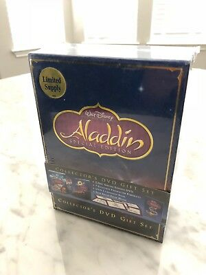 Aladdin (DVD, 2004, 2-Disc Set, Special Edition - Gift Set BRAND NEW Factory Set