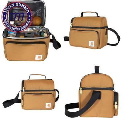 20bcef406d9 Carhartt Deluxe Dual Compartment Insulated Lunch Cooler Bag 35810002  Cooking   Dining