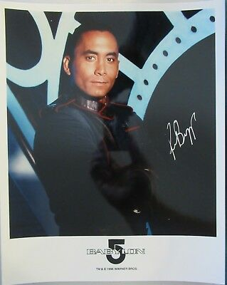 Richard Biggs Dr. Franklin Babylon 5 SIGNED Photo