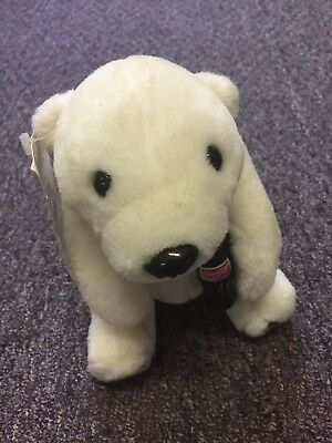 Coca-Cola Plush Polar Bear Collectible 1993 7.5 Inches Tall