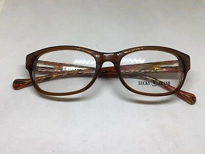 87d4d0137eb Lucky Brand Brown Busy Bee Eyeglasses Frames Free Shipping