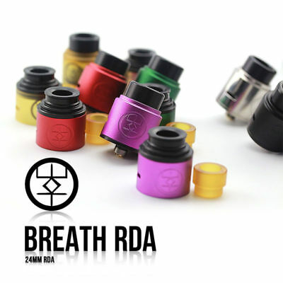 New Original ADVKEN Breath RDA 510 Thread 24mm Fast Shipping HSG F