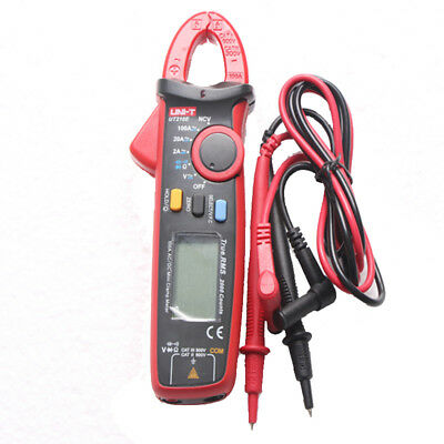 UNI-T UT210E Digital Clamp Meter Multimeter Handheld RMS AC/DC Mini Resistanc US