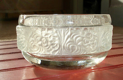 Vintage Avon Oval Frosted Candy Dish