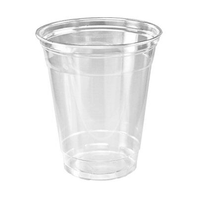 SOLO Cup Company Plastic Party Cold Cups, 16 oz, Clear, 100 pack FREE2DAYSHIP