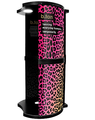 b.tan - All In One Spray Tan Booth - Pink Tanning Booth for Salon Professionals