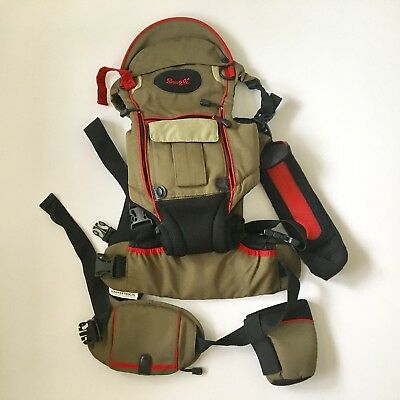 d62b41c0f5c Evenflow Snugli Serenade Outdoor Hiking Baby Toddler Child Carrier Backpack