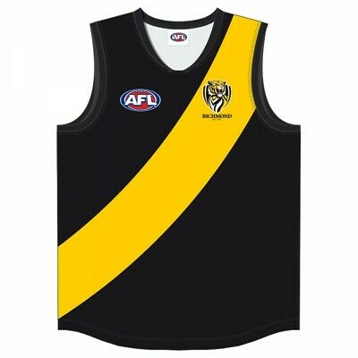 Richmond Tigers Official AFL Youth Guernsey Footy Jumper 2018