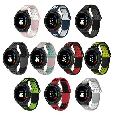 Silicone Watch Band For Garmin Forerunner 220 230 235 630 620 735 S20 S5 6