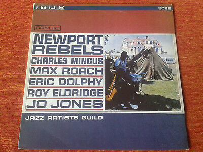 Newport Rebels Max Roach Eric Dolphy Mingus Candid Stereo 9022 Reissue NM