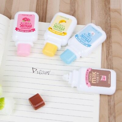 Cartoon Correction Tape Stationery Milk Bottle Style Office And School Supplies