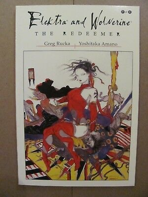 Elektra and Wolverine The Redeemer #1 #2 #3 Complete Marvel 2002 Series 9.4 NM