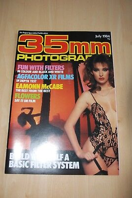 Vintage 35mm PHOTOGRAPHY Magazine July 1984 in colour