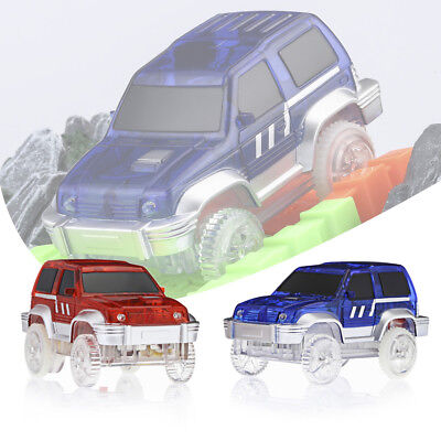 LED Light Up Cars For Magic Electronic Car Toy W/ Flashing Lights Gift