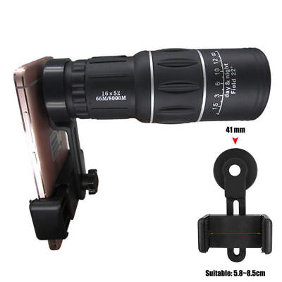 2018For Universal Cell Phone Optical Zoom Camera Clip Telescope Microscope Lens