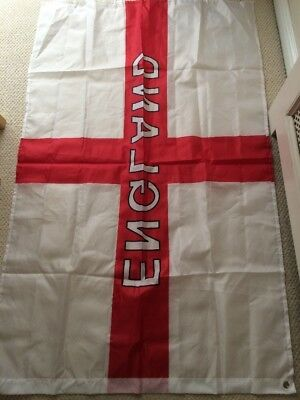 England Flag 5ft x 3ft St George Cross Flags world cup Football Rugby