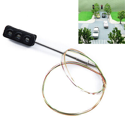 Two Side Traffic Light Turn Signal LED Train Railroad Crossing Street 60 MA 5V