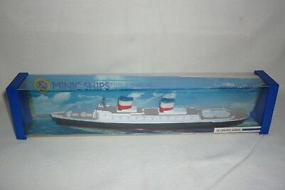 Minic Ships - Diecast By Hornby - Ss United States - 1:1200 - Ovp - (1.bo-8)