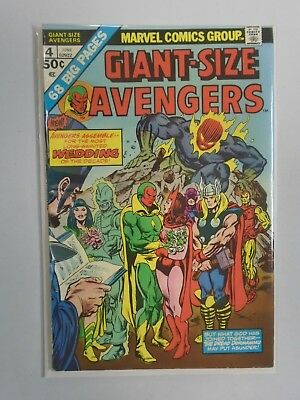 Giant-Size Avengers #4, 6.0 (1975) Wedding of the Vision and Scarlet Witch Issue