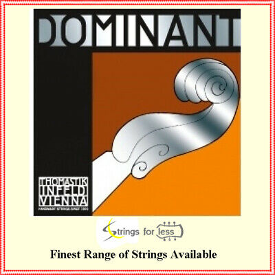 Thomastik-Infeld 129 Dominant Violin String Single E String 129, 4/4 Size Chrome